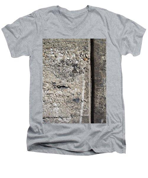 Abstract Concrete 16 Men's V-Neck T-Shirt
