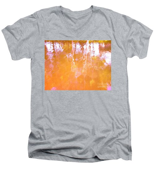 Abstract Extensions Men's V-Neck T-Shirt