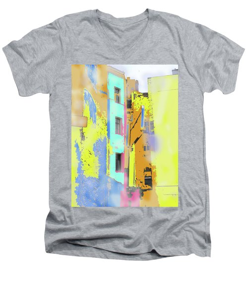 Abstract  Images Of Urban Landscape Series #2 Men's V-Neck T-Shirt