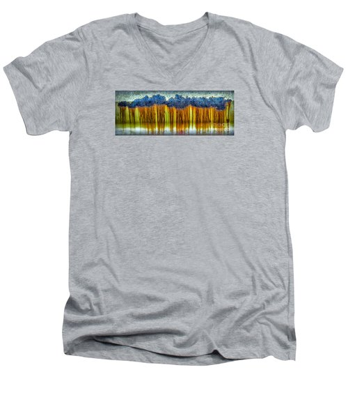 Junkyard Abstract Men's V-Neck T-Shirt