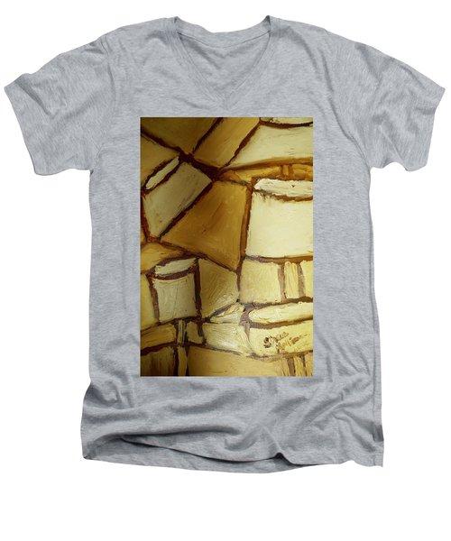 Abstract Lamp #1 Men's V-Neck T-Shirt