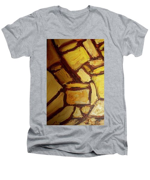 Abstract Lamp #2 Men's V-Neck T-Shirt