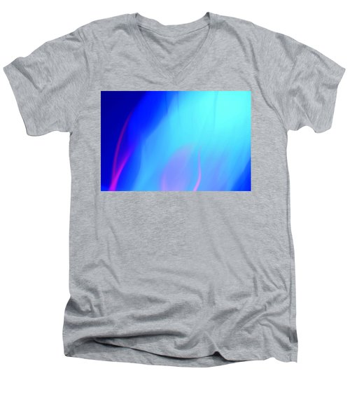 Abstract No. 10 Men's V-Neck T-Shirt