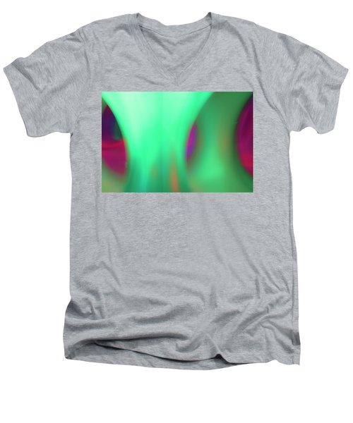 Abstract No. 11 Men's V-Neck T-Shirt