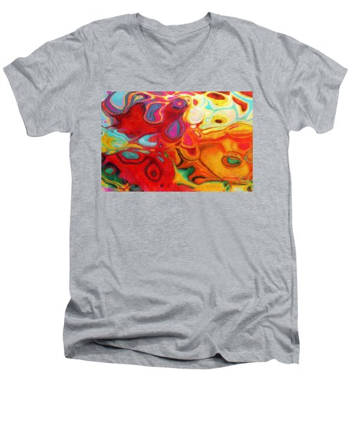 Abstract No. 20 Men's V-Neck T-Shirt