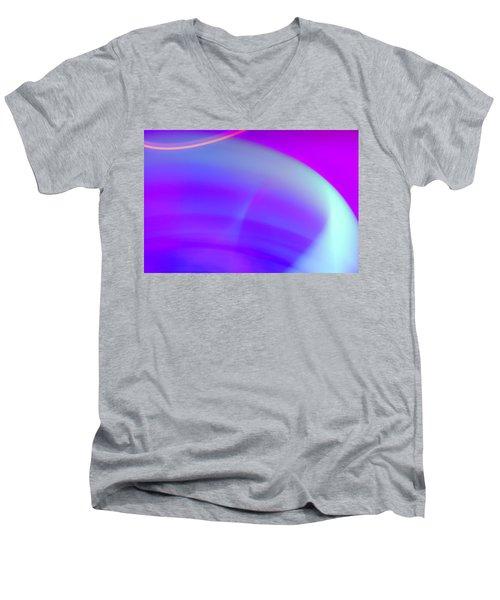 Abstract No. 4 Men's V-Neck T-Shirt