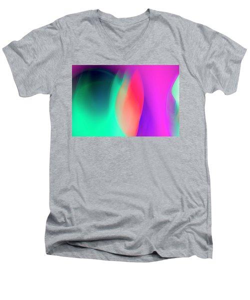 Abstract No. 6 Men's V-Neck T-Shirt