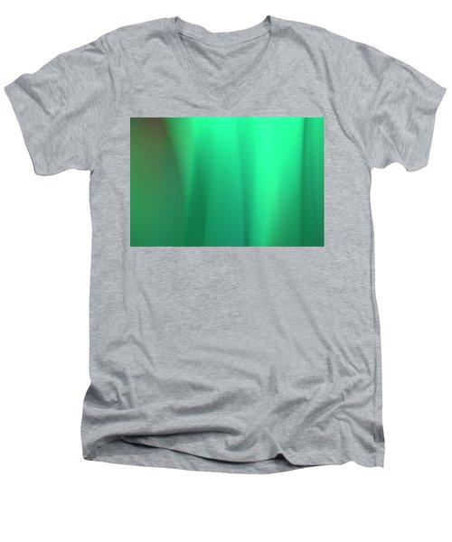Abstract No. 8 Men's V-Neck T-Shirt