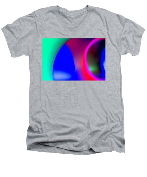 Abstract No. 9 Men's V-Neck T-Shirt
