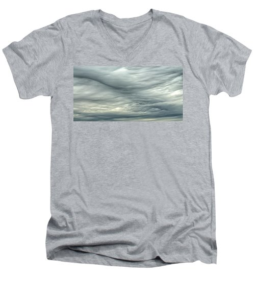 Abstract Of The Clouds 2 Men's V-Neck T-Shirt