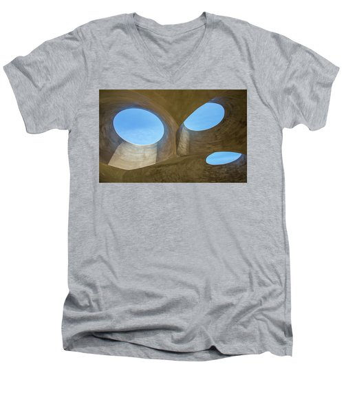 Abstract Of The Roof Men's V-Neck T-Shirt