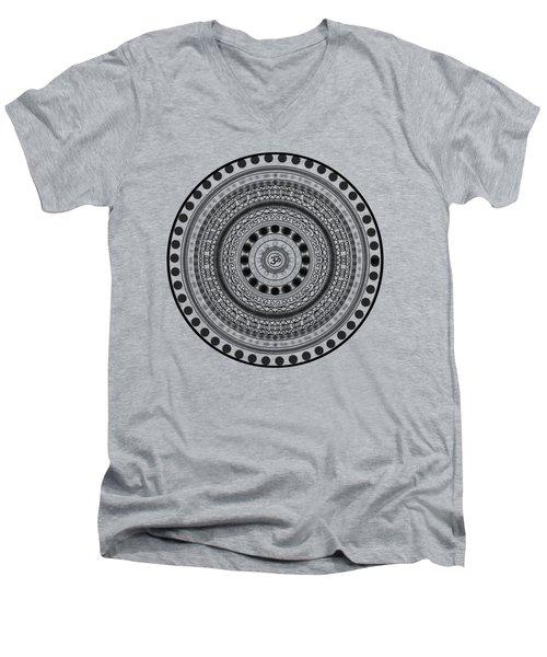Abstract Om Mandala Men's V-Neck T-Shirt