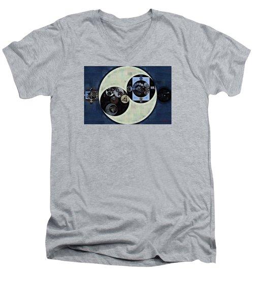 Abstract Painting - Madison Men's V-Neck T-Shirt by Vitaliy Gladkiy