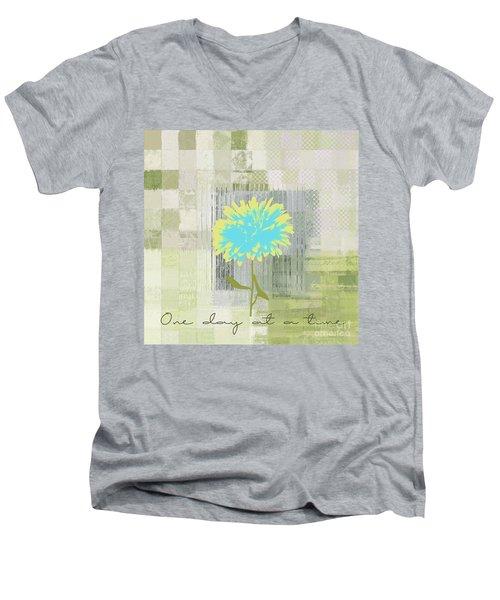 Abstractionnel - 29grfl3c-gr3 Men's V-Neck T-Shirt