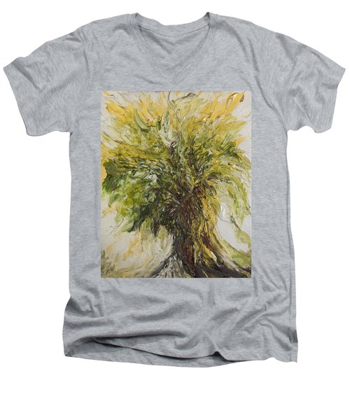 Abundance Tree Men's V-Neck T-Shirt