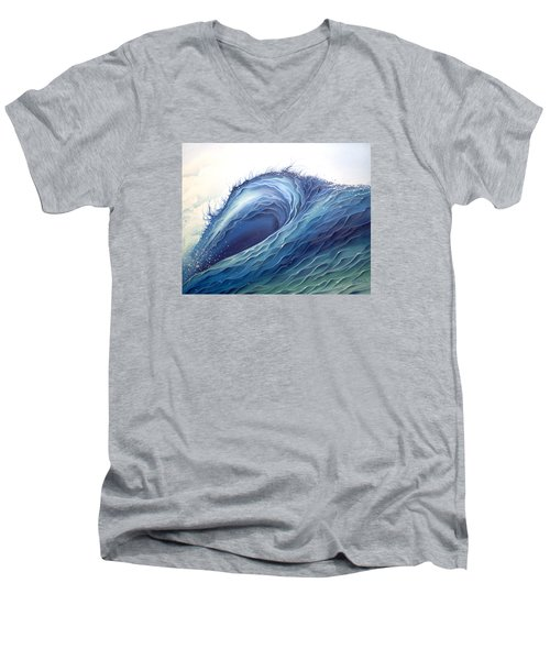 Abyss Men's V-Neck T-Shirt by William Love