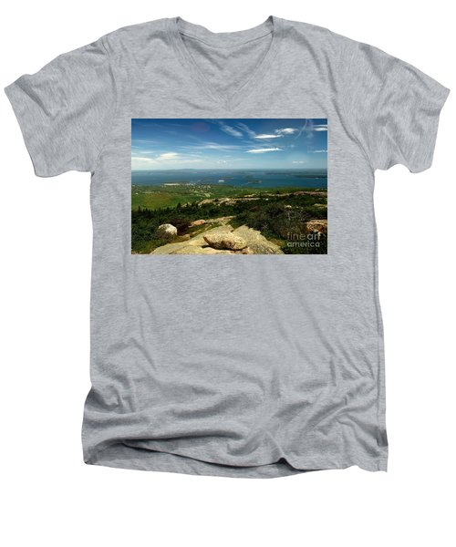 Acadia Men's V-Neck T-Shirt