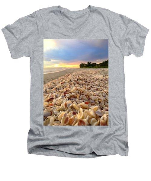 Men's V-Neck T-Shirt featuring the photograph Access 7 by Melanie Moraga
