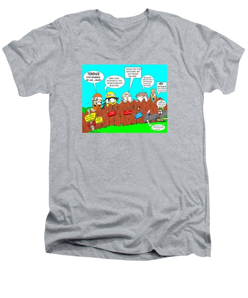 Acess Denied Men's V-Neck T-Shirt