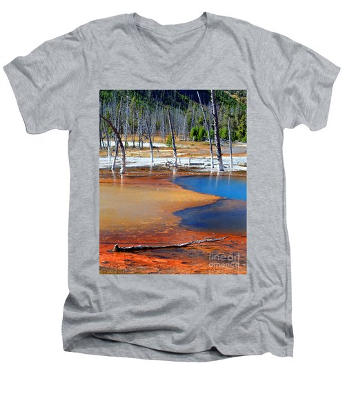 Acid Soup Yellowstone Men's V-Neck T-Shirt