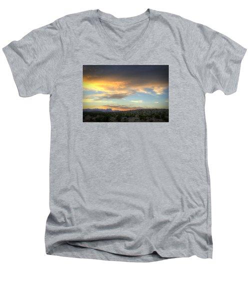 Across The Street Men's V-Neck T-Shirt