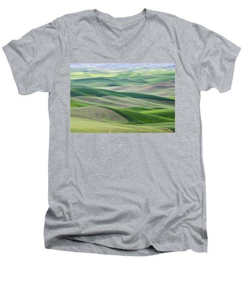 Across The Valley Men's V-Neck T-Shirt