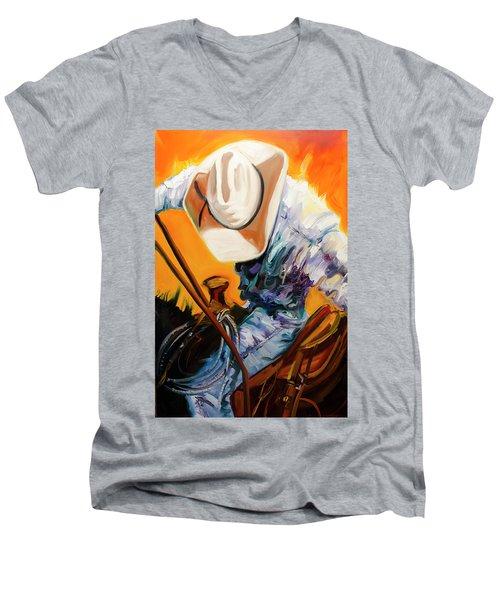 Action Jackson Men's V-Neck T-Shirt