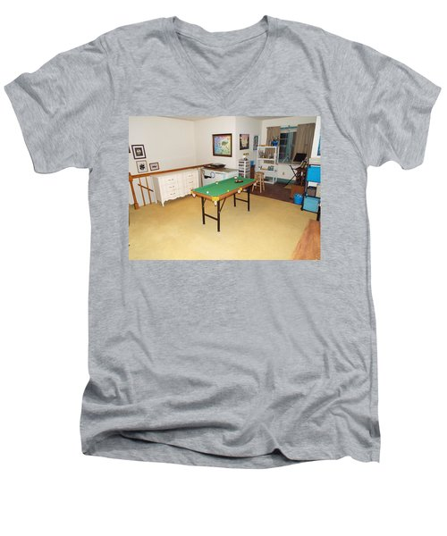 Activity Room Men's V-Neck T-Shirt