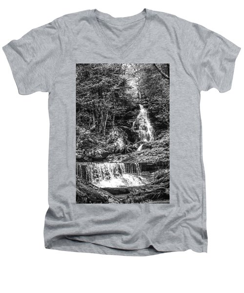 Adams Falls - 8867 Men's V-Neck T-Shirt