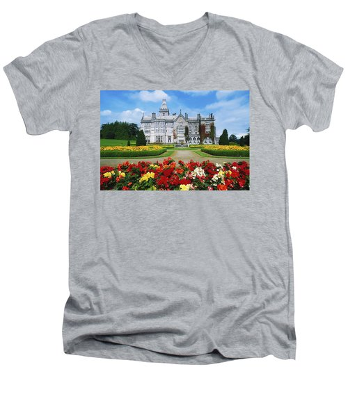 Adare Manor Golf Club, Co Limerick Men's V-Neck T-Shirt by The Irish Image Collection