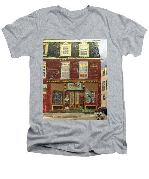 Adelle's Men's V-Neck T-Shirt