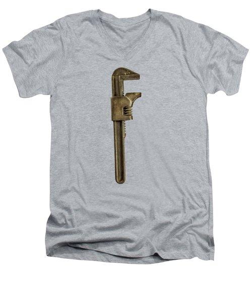 Adjustable Wrench Backside Men's V-Neck T-Shirt