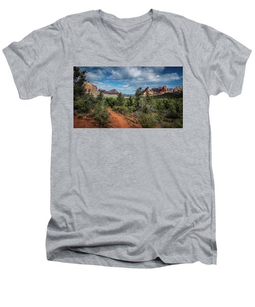 Adobe Jack Trail Men's V-Neck T-Shirt