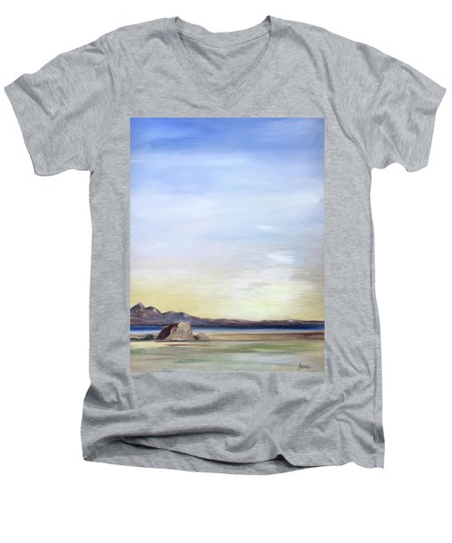 Adobe Rock Men's V-Neck T-Shirt