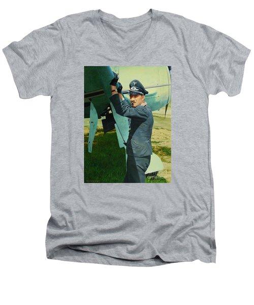 Adolf Men's V-Neck T-Shirt