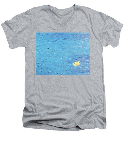 Adrift Men's V-Neck T-Shirt by Thomas Blood