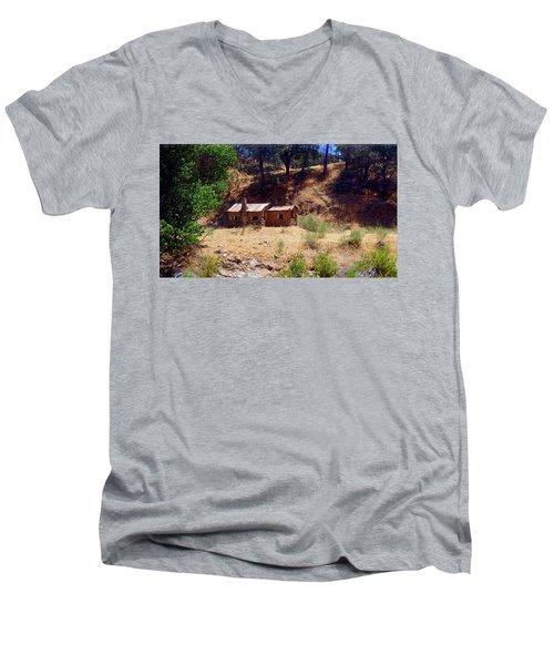 Affordable Housing Kern County California Men's V-Neck T-Shirt