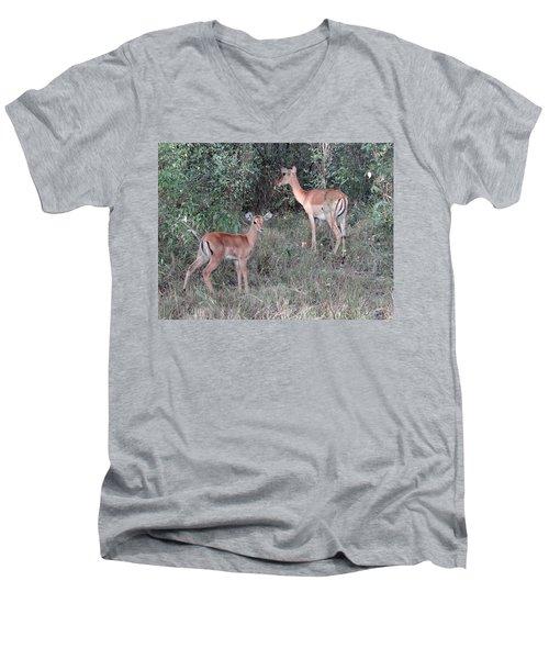 Africa - Animals In The Wild 2 Men's V-Neck T-Shirt