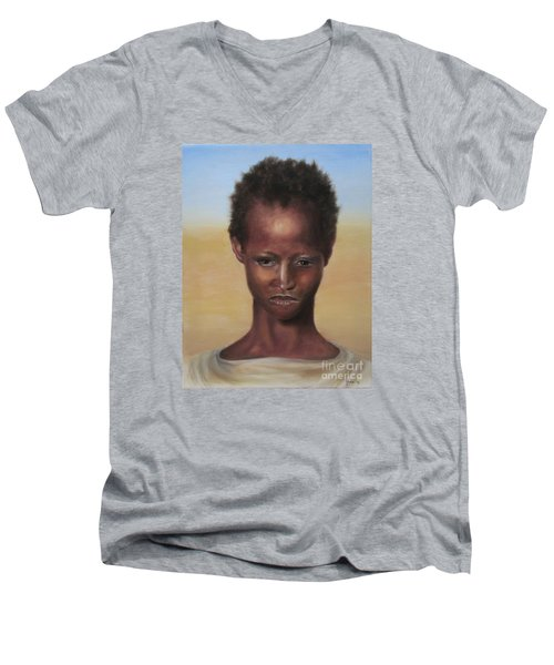 Africa Men's V-Neck T-Shirt
