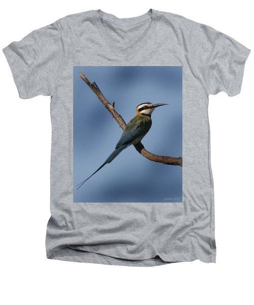 African Bee Eater Men's V-Neck T-Shirt