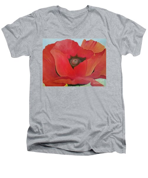 After Georgia Men's V-Neck T-Shirt by Susan Williams