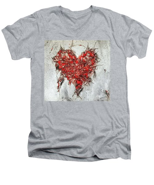 After Love Men's V-Neck T-Shirt
