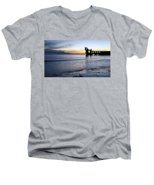 After Sunset Blackrock 1 Men's V-Neck T-Shirt