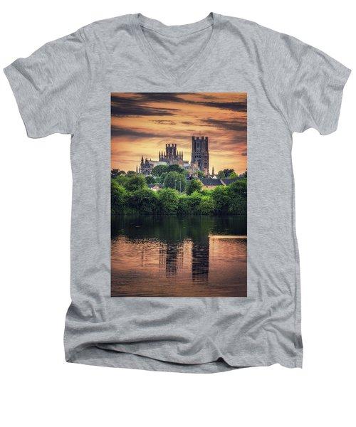 After Sunset Men's V-Neck T-Shirt