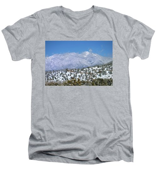 After The Blizzard Men's V-Neck T-Shirt