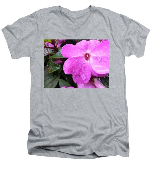 Men's V-Neck T-Shirt featuring the photograph After The Rain by Robert Knight