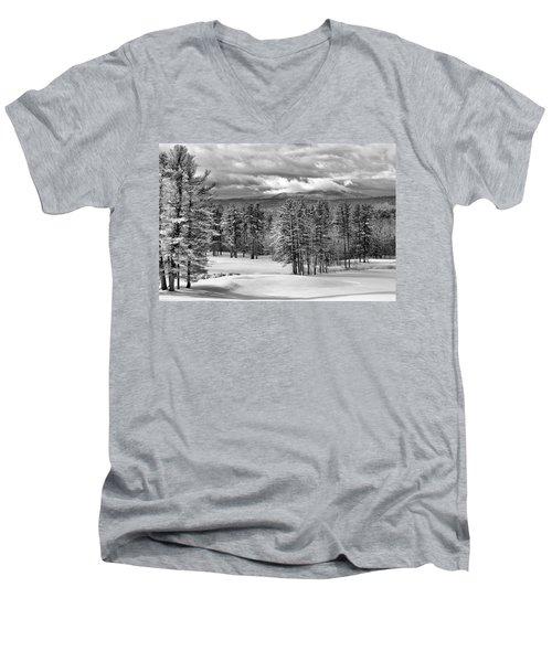 After The Snow  Men's V-Neck T-Shirt
