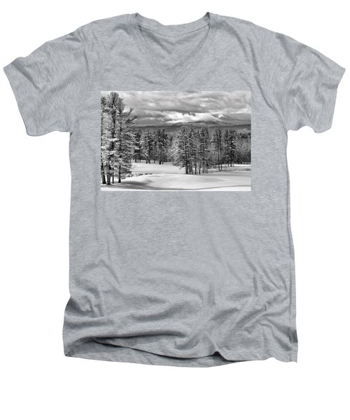 After The Snow  Men's V-Neck T-Shirt