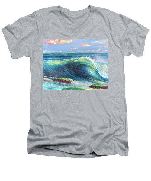 Afternoon Delight Men's V-Neck T-Shirt