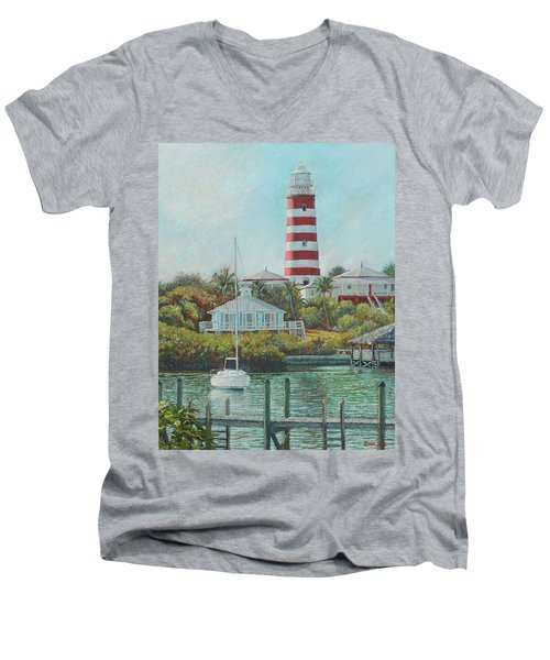 Afternoon In Hope Town Men's V-Neck T-Shirt
